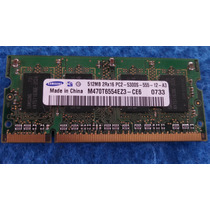 Smart Memoria Notebook 512mb Ddr2 Pc2-5300s 555-12-a0 2rx16