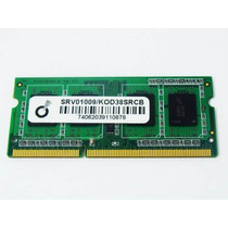 Memoria Ddr3 4gb 2 Pentes De 2gb Notebook 1333 Mhz