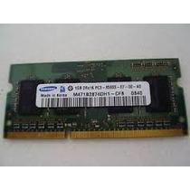 769 - Memória 1gb Ddr3 Pc-3200 1066 Mhz