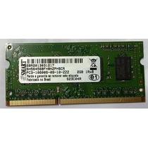 Memória Ddr3 2gb Samsung Smart, 10600s Para Notebook