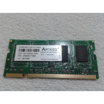 Memoria 1gb 800mhz Pc2-6400 Ddr2 Sdram Notebook