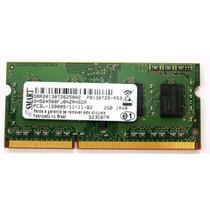 Smart Memoria Notebook Ddr3 2gb Pc3l-12800s...........c:4017