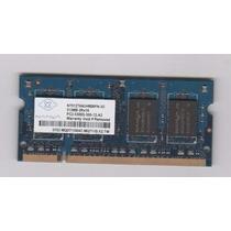 Memoria Nanya 512mb 2rx16 Pc2-5300s Ddr2 667mhz 200 (4034)