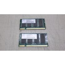 Memória Ddr 1gb (2x512m) Pc-2700 Nanya Notebook Diversos