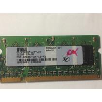 Memória Notebook 512mb/533 Pc2-4200 Smart