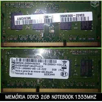 Memoria Ddr3 2gb Notebook Smart