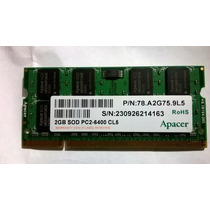 Memoria Notebook Ddr2 2gb, 6400, Semp Toshiba