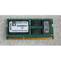 Memoria Ddr3 2gb Kingston Notebook E Macbook Kvr1066d3s7/2g
