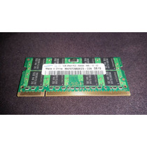 Memória Samsung 2x 1gb Ddr2 2rx8 Pc2-5300s-555-12-e3 - 667