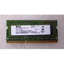 Memória Notebook Macbook 1gb Ddr3 667 Pc3-10600s-09-10 Smart