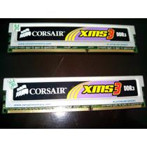 Kit Com 2 Pentes De Memória De 2gb Corsair Xms3 - 1600mhz