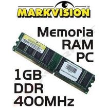Memoria 1gb Ddr1 400mhz Markvisiom * Frete Gratis *