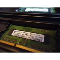 Memória Ram Samsung 2x 1gb - 1066mhz - Pc3 - 8500s
