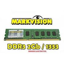 Memória De 2gb Ddr3 1333mhz Markvision Especial P/ Revenda