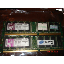 Memoria Ddr 256 Megas Genérica 333 Mhz Pc2700 Memtest Ok