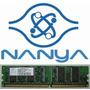 Nanya 128mb 16mx16 Cl2.5 Pc2700 Ddr 333mhz Memoria Desktop