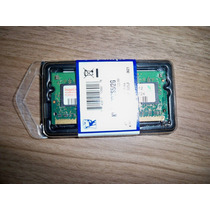 Pente De Memória Ram 512mb Ddr2 667mhz Pc2-5200 - Para Note
