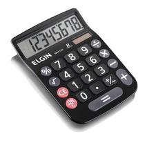 Calculadora De Mesa 8 Dígitos Mv 4133 Preta - Energia Solar