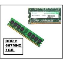 Memoria Ddr2 1gb Pc 5300 667 Mhz Pode Servir P/ 533mhz Cod35