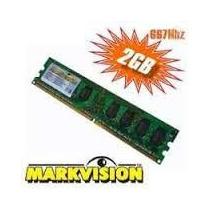 Memória Desktop Markvision 2gb Ddr2 667mhz Pc5300 Cl5 - Nova