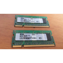 Memória Ram Para Notebooks Smart 256mb Ddr2 Pc2-4200s