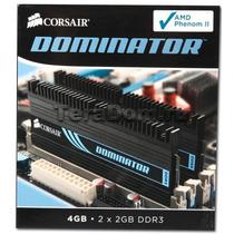 Memoria Corsair 4gb (2x2gb) 1600mhz Ddr3 Dominator