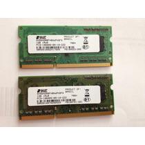 Memória Notebook Smart Ddr3 1066mhz 2gb (2x1gb)