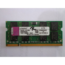 Memória 2 Gb P/ Notebook Ddr2 800mhz Kingston