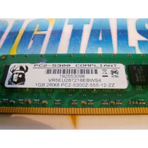Memoria Desktop 1gb 2rx8 Ddr2 Pc2-5300z -555-12-zz Br-0uy457