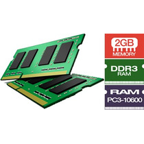 Memoria Ddr3 2 Giga 2gb 1333 Notebook Netbook 12x S/ Juros