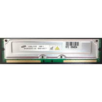 Memória Drdram Rambus 128mb/4 Samsung