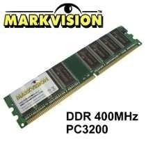 Memória 1gb Pc 3200u -ddr 400 Mhz Markvision