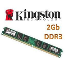 Memoria Kingston Ddr3 2gb 1333mhz Original Garantia+n.fiscal