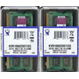Kit Kingston 4gb ( 2x2gb)ddr3 1066/1067 Apple Mac Mini Note