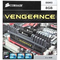 Kit De Memória 8gb(2x4) Vengeance Corsair Cmz8gx3m2a1600c9