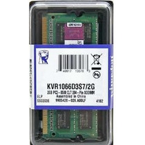 Mem Kingston 2gb ( 1x2gb)ddr3 1066/1067 Apple Mac Mini Note