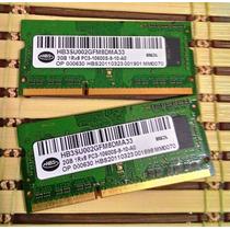 Memória Ddr3 4gb (2x 2gb) Para Notebook