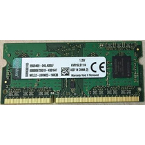 4gb 1600 Mhz Kingston Ddr3 1.35v P/ Dell Vostro 5470 E Notes