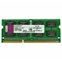 Memória Kingston 4gb 1333mhz Ddr3 Para Notebook / Netbook