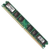 Kit Memória Kingston Ddr2 2gb 800mhz + Memoria Ddr 400 1gb
