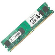 Smarca-512mb667 Memória 512mb Ddr2 667mhz Para Desktop