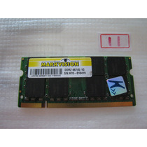 Memória P/ Note 1gb- Ddr2 667 Markvision