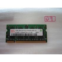 Memória P/ Note 1gb- Ddr2 Pc2-5300s-555
