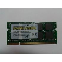 Memoria 2gb/667p/notebook Markvision - Frete Gratis