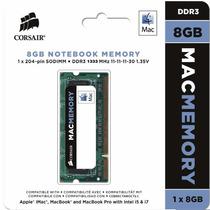 Memoria Notebook Corsair Mac 8gb 1333mhz Ddr3 Imac Macbook