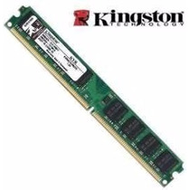 Memória Ddr2 Kingston Kv800d2n6/1gb 800mhz (modelo Slim)