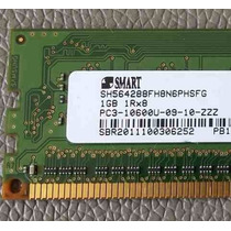 Memoria 1gb Smart 1rx8 Ddr3 Pc3-10600u-09-10-zzz