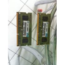 Memoria Ddr3 2gb Para Notebook / Smart + 1 Ddr3 1gb
