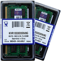 Memória Notebook 8gb Ddr3 1333mhz - Kingston - Lacrada!