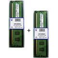 Kit 2x Memória Kingston Ddr3 2gb 1333mhz Dual Pc3-10600 - 4g